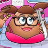 Today you will open the doors to the office to see Pou Girl in this eye doctor